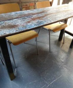 diverse opklapbare oude houtentafels-1