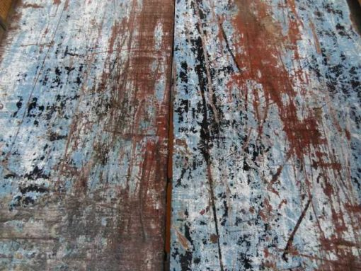 Various old folding wood tables-3
