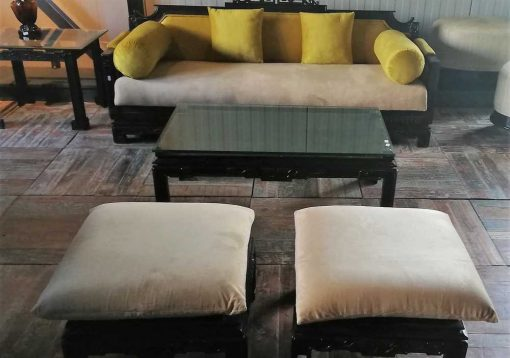 Antique 5-piece chinese sitting area-1