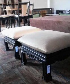 Antike 5-teilige chinesische Sitzecke-3