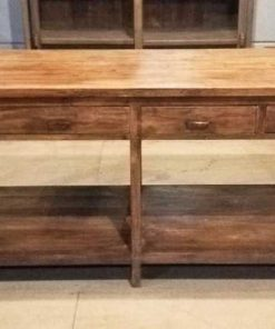 Antique sideboard / sidetable with drawers-1