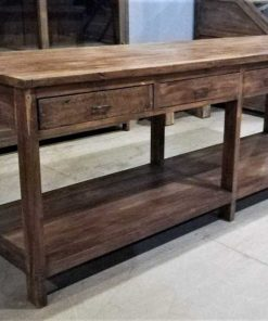 Antique sideboard / sidetable with drawers-2