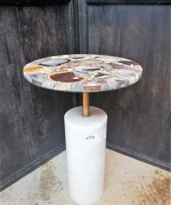 Round side table-4