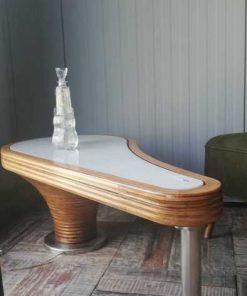 Antique Art Deco coffee table-1