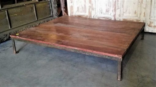 Low vintage coffee table-3