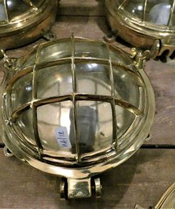 Authentic old bronze ship lamp / ceiling lamp / wall lamp-1
