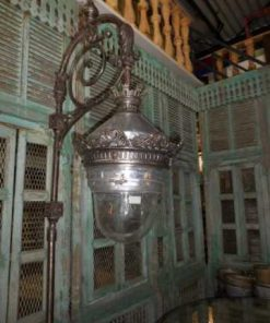 Antieke art deco lantaarn paal-2