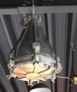 Antique refurbished industrial lamp-1