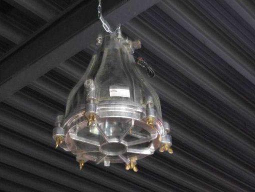 Antique refurbished industrial lamp-3