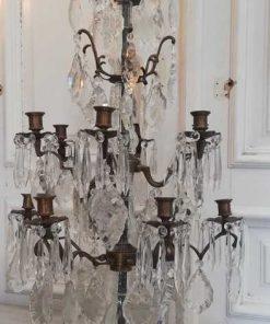 Bronze candle holder / girandole-2