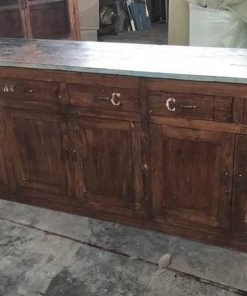 Antique workbench / kitchen block / sideboard-1