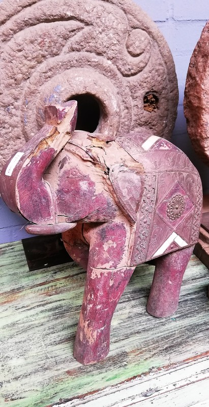 Old Wooden Elephant-1