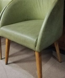 Vintage Green Chairs-1
