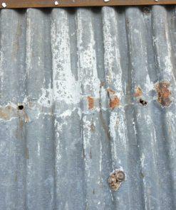 Vintage corrugated iron panels-2