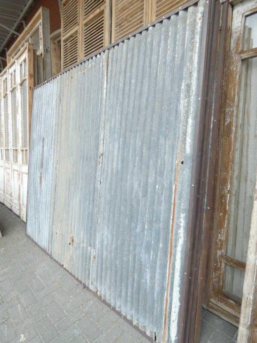 Vintage corrugated iron panels-3
