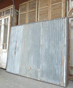 Vintage corrugated iron panels-4