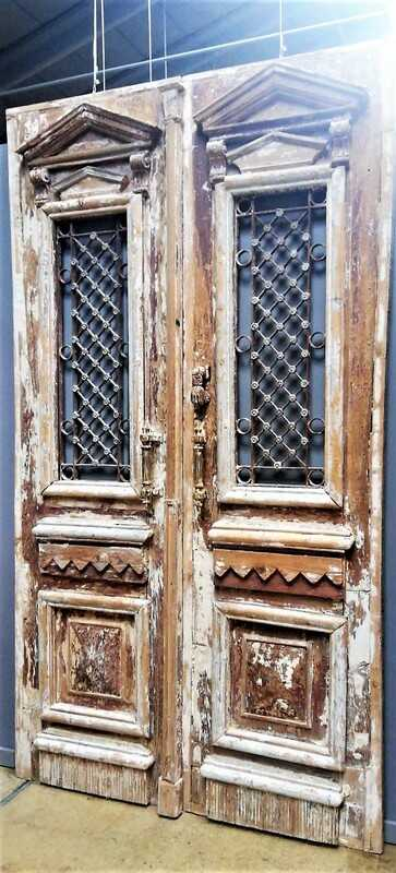 Antique Exterior Door-1