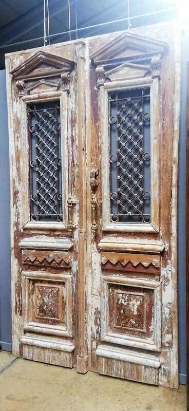 Antique Exterior Door-2
