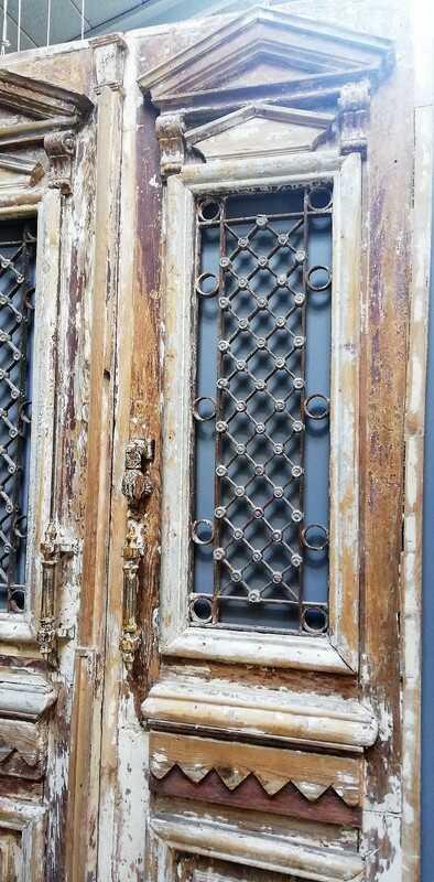 Antique Exterior Door-3