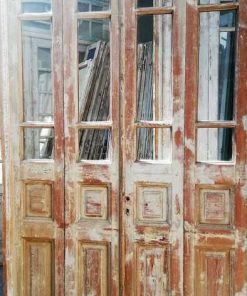 Antique 4-stroke Doors / Orangery Door With Glass-2