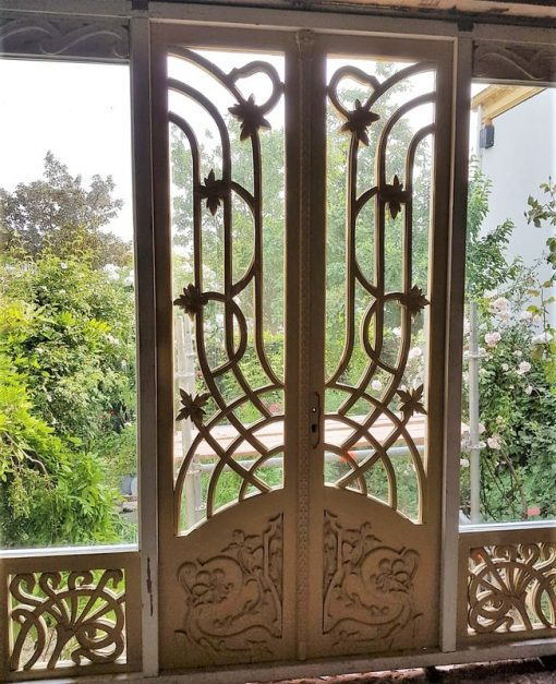 Antique Art Nouveau Doors-1