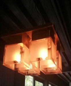 Antique Art Deco Ceiling Lamp-1