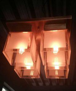 Antique Art Deco Ceiling Lamp-2