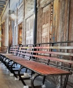 Vintage Iron Benches-5
