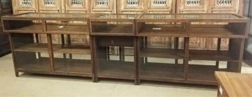 Antique Display Case Counter-1