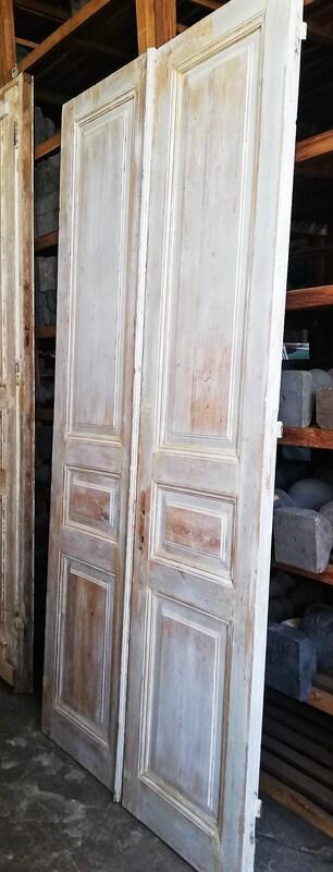 Antike doppelwandige Türen-1