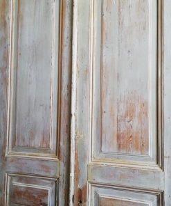 Antique Double Panel Doors-2