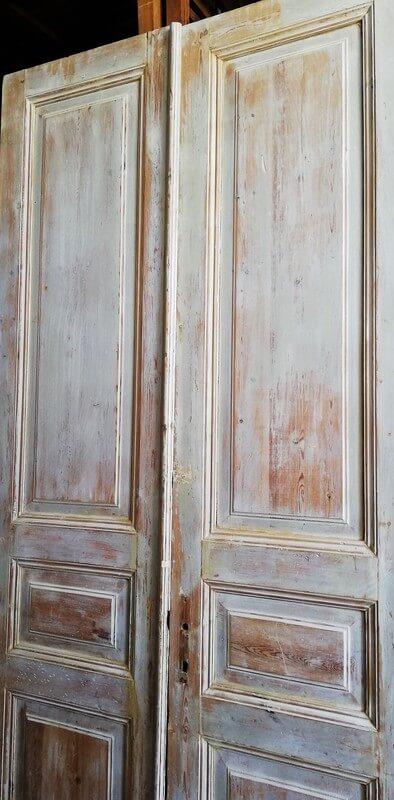 Antike doppelwandige Türen-2
