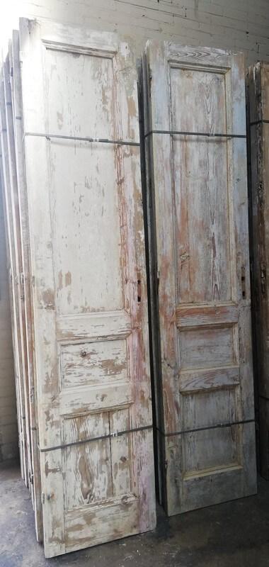 Antike doppelwandige Türen-4