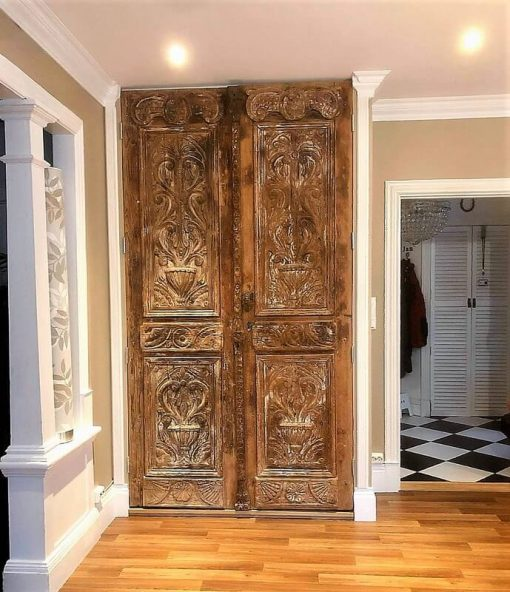 Antique Crafted Cabinet Doors-1
