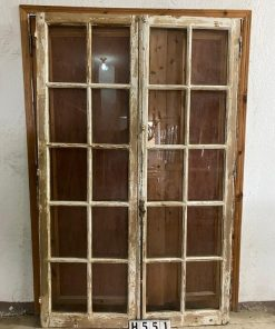 Antique Double Panels With Windows-1