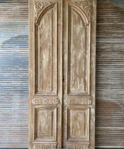 Antike doppelte Vordertür-1