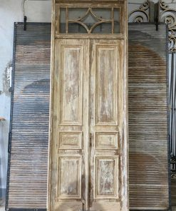 Antique Panel Doors In Frame-1