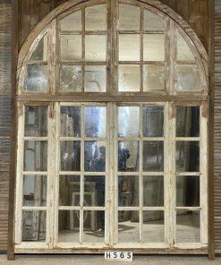 Antieke Deco Ramen Met Spiegels Hxb 275x210 Cm-1